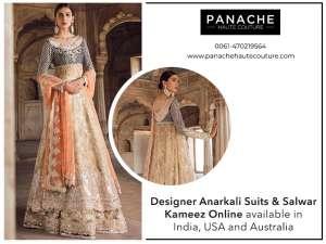 Buy Indian Designer Anarkali Suits Online, Anarkali Salwar Kameez