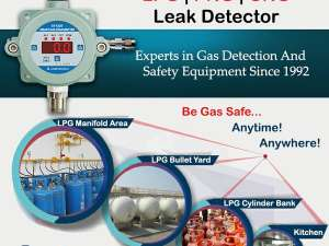 PNG / LPG Gas Detection System For Commercial Kitchens