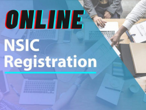 How to Apply online NSIC Registration in Delhi-NCR